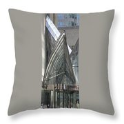 Toronto Silhouettes Iv Throw Pillow