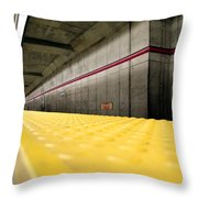 Toronto Subway Station Throw Pillow