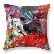 Toroscape 11 Throw Pillow