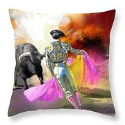 Toroscape 43 Throw Pillow
