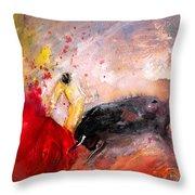 Toroscape 48 Throw Pillow