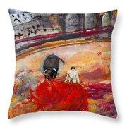 Toroscape 56 Throw Pillow by Miki De Goodaboom