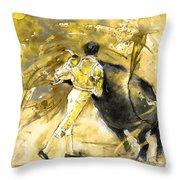 Toroscape 66 Throw Pillow