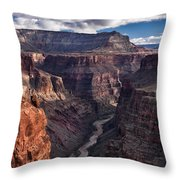 Toroweap Overlook Classic View Throw Pillow