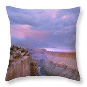 Toroweap Overlook Grand Canyon Nparizona Throw Pillow