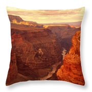 Toroweap Point, Grand Canyon, Arizona Throw Pillow