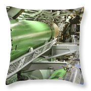 Torpedo Room Throw Pillow