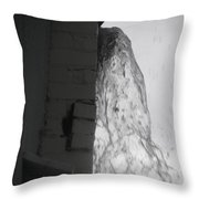 Torrential Water Spout Throw Pillow