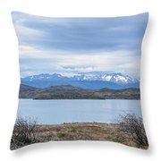 Torres Del Paine National Park Throw Pillow