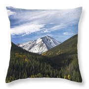 Torreys Peak 3 Throw Pillow