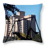 Torrington Towers 1 Throw Pillow
