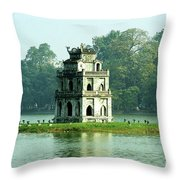 Tortoise Tower 01 Throw Pillow