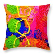 Totem  IIi Throw Pillow