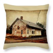 Touch Of Christmas Cheer Throw Pillow