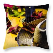 Touch Of Fall  Throw Pillow