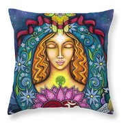 Touch Of Glory Throw Pillow