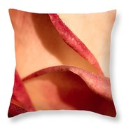 Touch Of Lips Throw Pillow