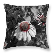 Touch Of Red Invite Throw Pillow