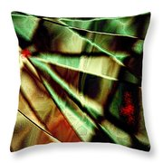 Touch Of Red Throw Pillow