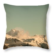 Touch Of Spindrift Throw Pillow