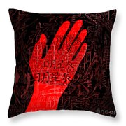 Ripples Of The Culture Throw Pillow