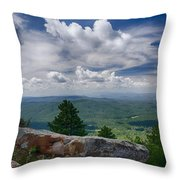 Touch The Clouds  Throw Pillow