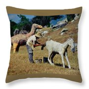 Touch Up Throw Pillow