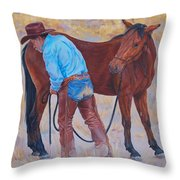 Turn About Is Fair Play  Throw Pillow
