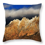 Touching The Clouds Throw Pillow