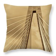 Touching The Sky Throw Pillow