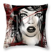 Tough Love Throw Pillow