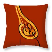 Thoughts And Colors Series Giraffe Throw Pillow