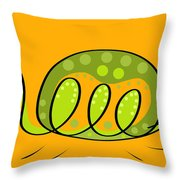 Thoughts And Colors Series Turtle Throw Pillow