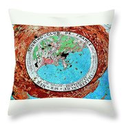 Touring Club Throw Pillow