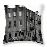 Touring Savannah Throw Pillow