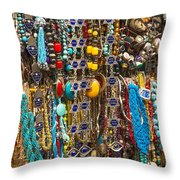 Tourist Souvenirs In Jersualem Israel Throw Pillow