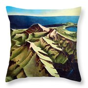 Toward The Opening Door Throw Pillow