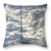 Tower After The Rain Throw Pillow