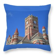 Tower And Turrets Throw Pillow