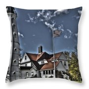 Tower At North Point Throw Pillow