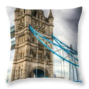 Tower Bridge And The Shard Throw Pillow