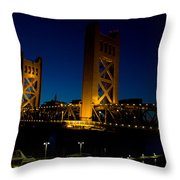 Tower Bridge Throw Pillow