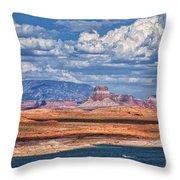 Tower Butte Throw Pillow