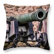 Tower Canon Throw Pillow