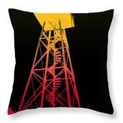 Tower Duty Alcatraz Throw Pillow