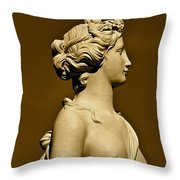 Tower Hill Garden Goddess Throw Pillow