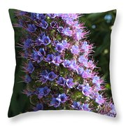 Tower Of Jewels Throw Pillow