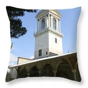 Tower Of Justice - Topkapi Palace - Istanbul Throw Pillow