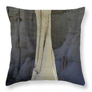 Tower Of Silence 1 Throw Pillow