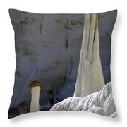 Tower Of Silence 2 Throw Pillow